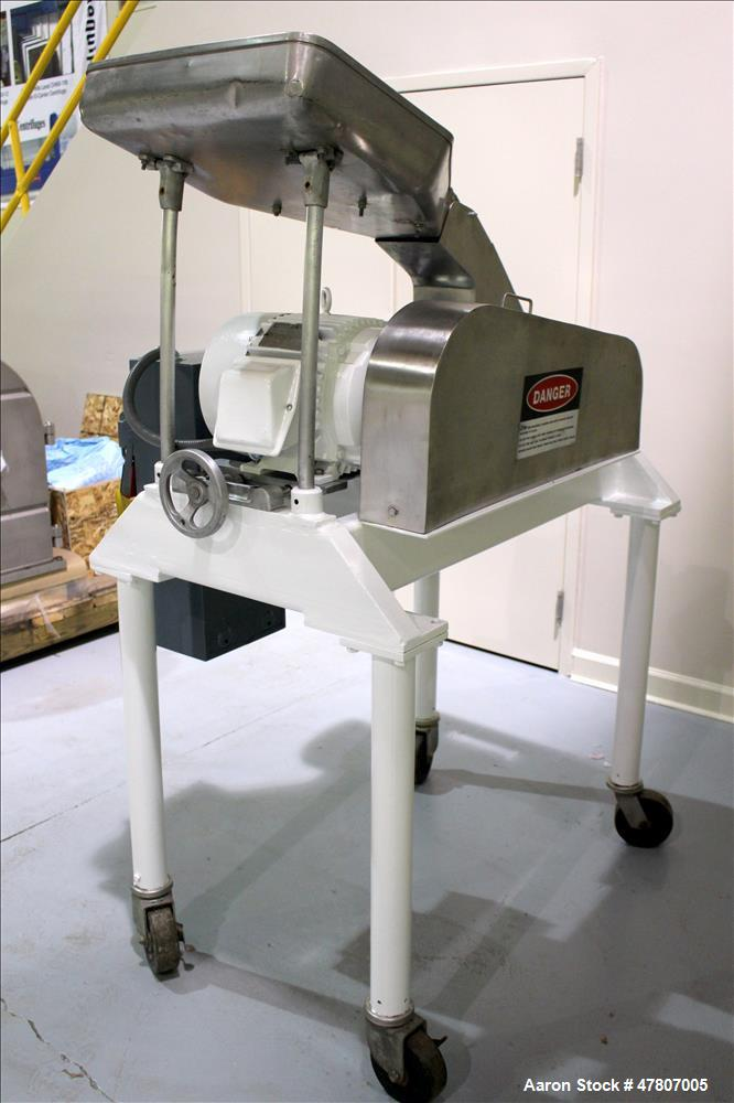 Used- Fitzpatrick Model DAS06 Fitzmill, 304 Stainless Steel.