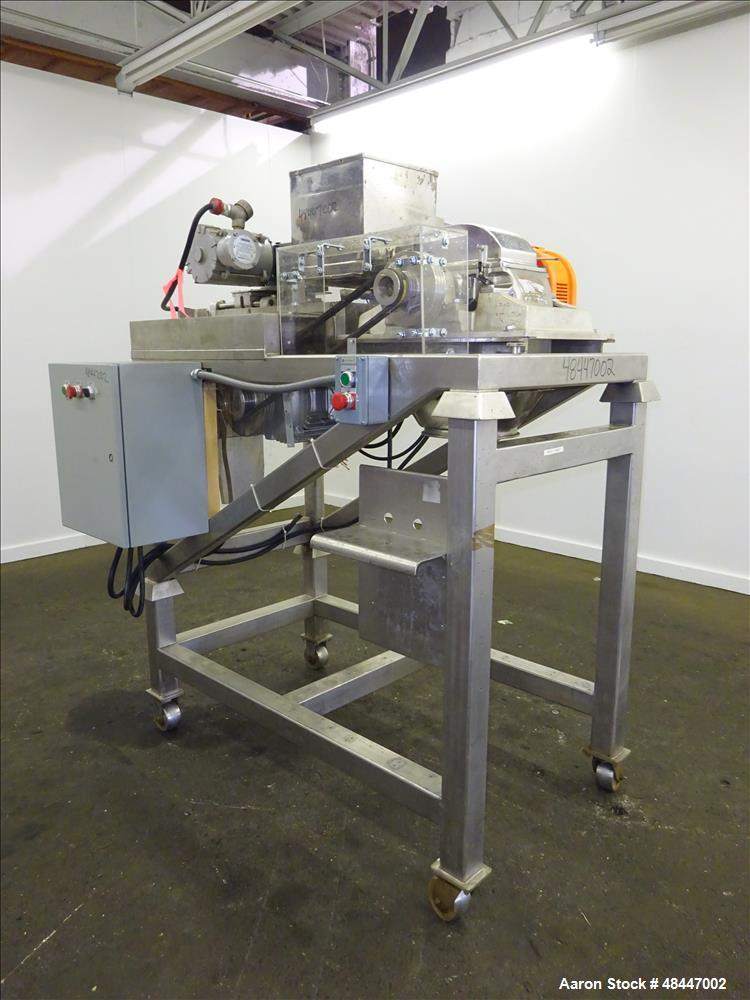 Used- Fitzpatrick Fitzmill, Model DASO6, 304/316 Stainless Steel