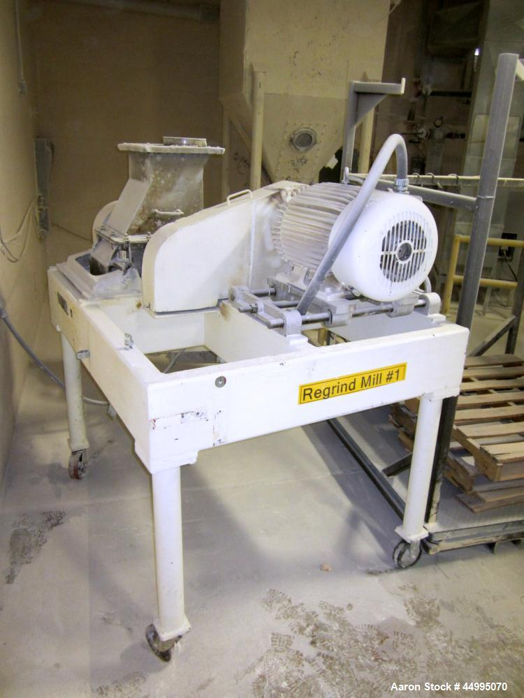Used- Stainless Steel Fitzpatrick Fitzmill, Model DASO-12