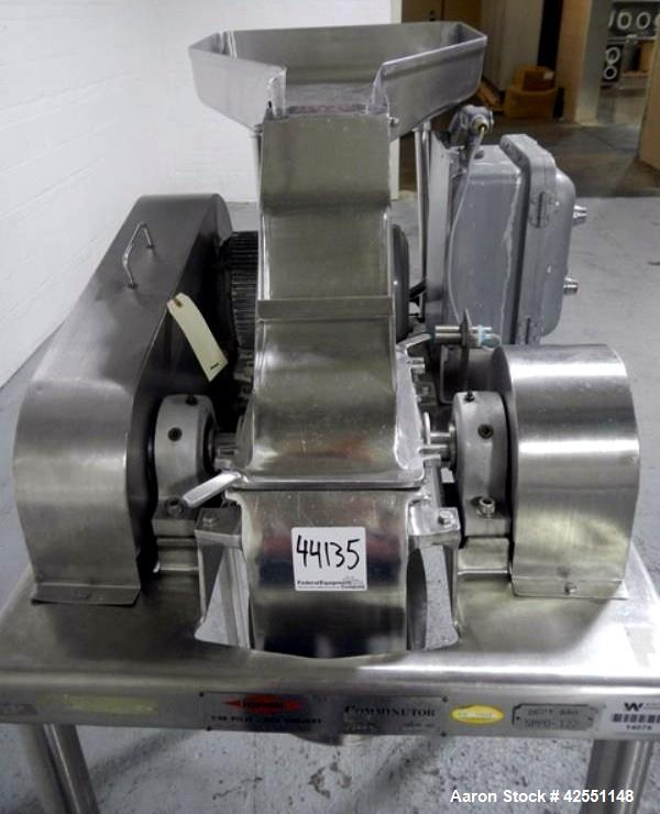 Used- Stainless Steel Fitzmill, Model DASO6