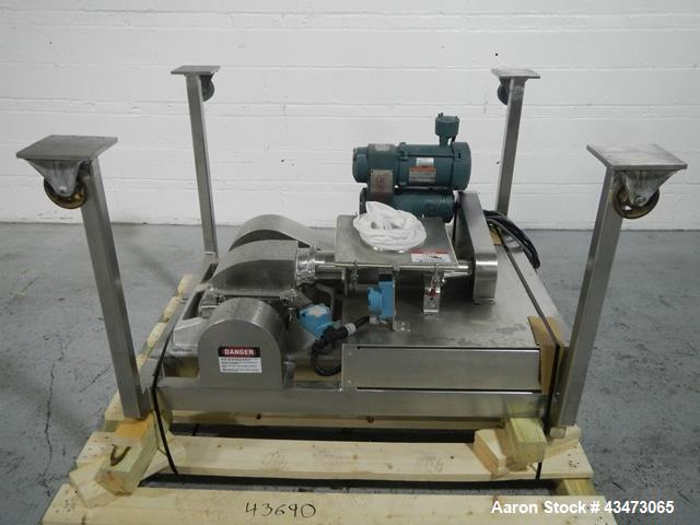 Used- Stainless Steel DASO6 Fitzmill