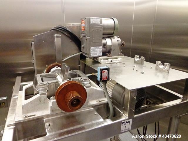 Used- Fitzpatrick Fitzmill, Model DASO6. Screw feed, missing parts, serial# 8236.