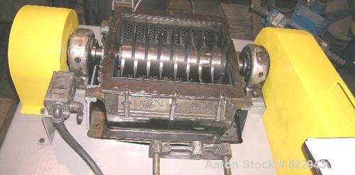 "USED: Fitzpatrick Fitzmill comminutor, stainless steel, model DKAS012.10"" diameter inlet, Hawker Siddeley 10 hp motor, 1730 ..."