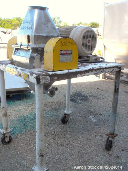 Used- Stainless Steel Fitzpatrick Fitzmill, Model DKASO12