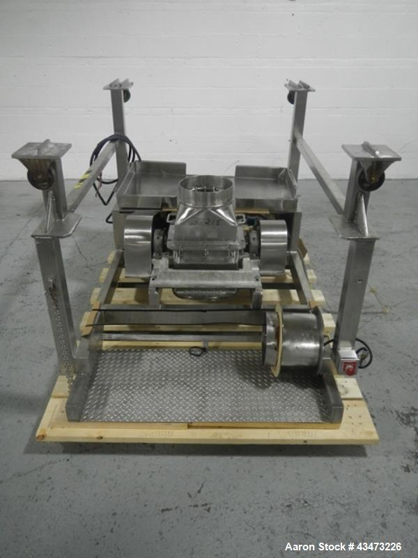 Used- Stainless Steel DKASO12 Fitzmill