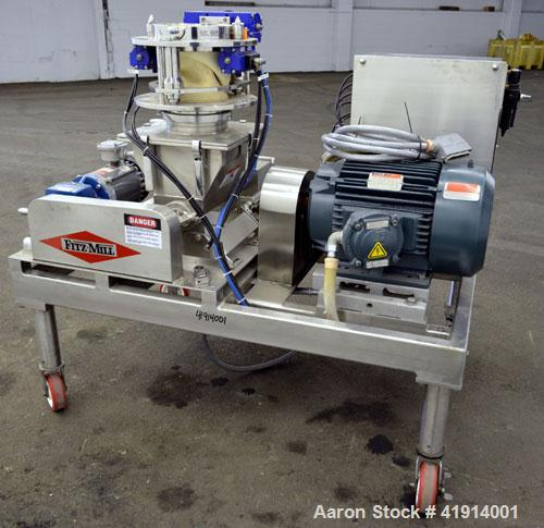 Used- Stainless Steel Fitzpatrick Fitzmill, Model DKASO6