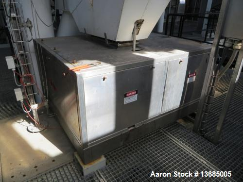 Used- Fitzpatrick SPV-FASO20-SSB Mill. 316 stainless steel on product contact parts with stainless steel 304 on base plate. ...