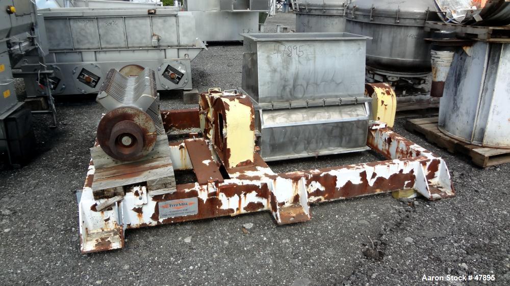 Used- Fitzpatrick Comminuting Machine, Model GH044, Code SPV-GH044-SSB