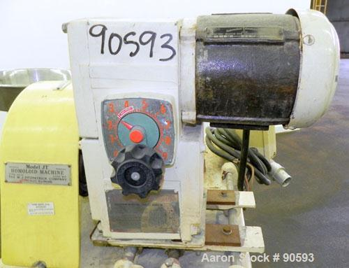Used- Stainless Steel Fitzpatrick Homoloid Mill, Model JT6