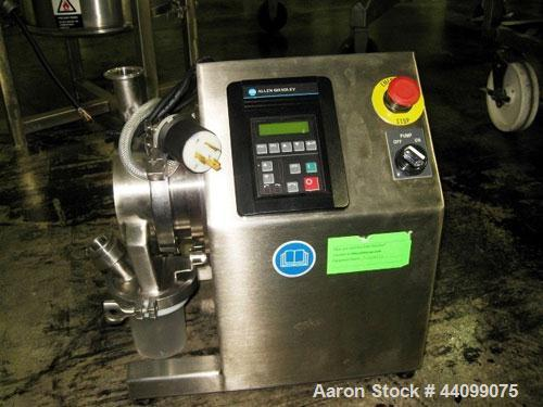 Used- Fitzpatrick Fitzmill, Model L1A. Benchtop design, gravity feed with Allen-Bradley VFD. Serial# 246, built 2003.