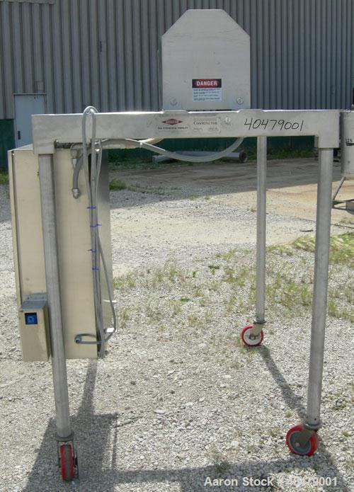 Used- Stainless Steel Fitzpatrick Fitzmill Comminutor Frame, model M5A