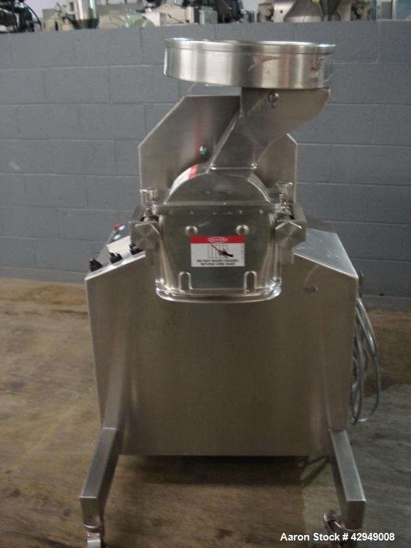 Used- Stainless Steel Fitzpatrick M5A Fitzmill