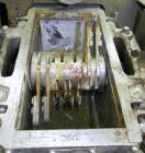 Used- Fitzpatrick Fitzmill, Model D6, 316 Stainless Steel. 16 Double sided impact 410/16/20 stainless steel swinging blades,...