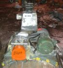Used- Fitzpatrick Fitzmill, Model D6, 304 stainless steel. (16) Double impact swinging blades, 6