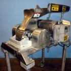 Used- Fitzpatrick Fitzmill, Model DAS06, Stainless Steel. (16) Fixed double impact blades. 6
