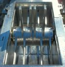 Used- Fitzpatrick Fitzmill, Model DASO6, 316 Stainless Steel. (16) 410/16/20 stainless steel fixed knife/impact blades. 11
