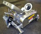 Used- Fitzpatrick Fitzmill, Model DASO6, 304 Stainless Steel.(16) Fixed impact/knife 410/16/20 stainless steel blades.6