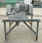 Used- Fitzpatrick Fitzmill, Model DKASO12, 316 Stainless Steel. (24) 410 Stainless steel fixed double knife blades. 11