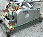 USED: Fitzpatrick Fitzmill, model DKASO12, 304 stainless steel. (32) fixed double impact blades, 11