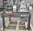 Used- Fitzpatrick Fitzmill, Model FASO12, 316 Stainless Steel. (24) Double knife fixed 410 stainless steel blades, 11