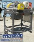 Used- Fitzpatrick Fitzmill, Model FASO12, stainless steel. (24) double impact fixed 410 stainless steel blades, 11
