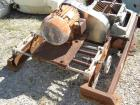 Used-Fitzmill Comminuter Hammermill,  Model Code FASO12. Stainless steel construction. Unit is missing cover on mill. Mill d...