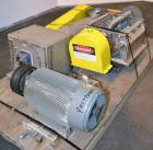 Used- Fitzpatrick Fitzmill, Model FASO20, 316 Stainless Steel. (48) Knife/Impcat fixed 410/16/20 stainless steel blades, 15