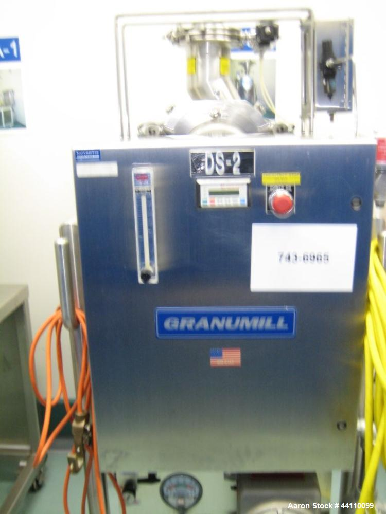Used- 5 Hp Granumill Fluid Air Model OUM, S# 10100, w/ (PC-2) Hepa Filter