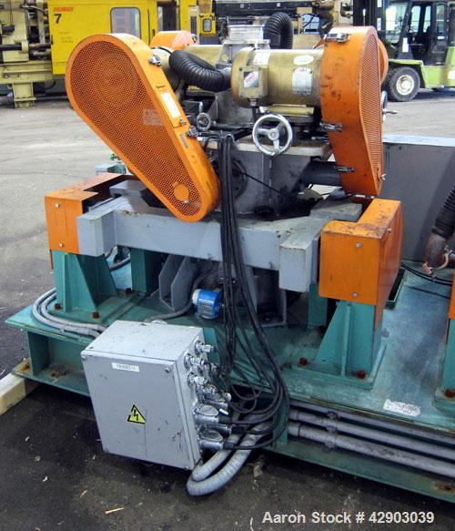 Used- Stainless Steel Hosokawa Alpine TurboPlex Mill, Model 100/4ATP