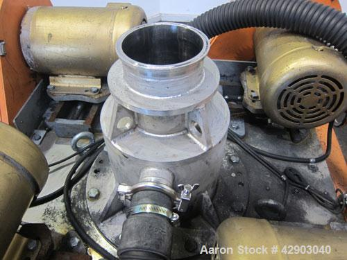 Used- Stainless Steel Hosokawa Alpine TurboPlex Mill, Model 100/4ATP,