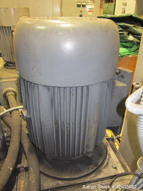 Used-Kawasaki Kryptron Eddy Mill, driven by a 50 hp, 3/60/230/460 volt, 1780 rpm motor.