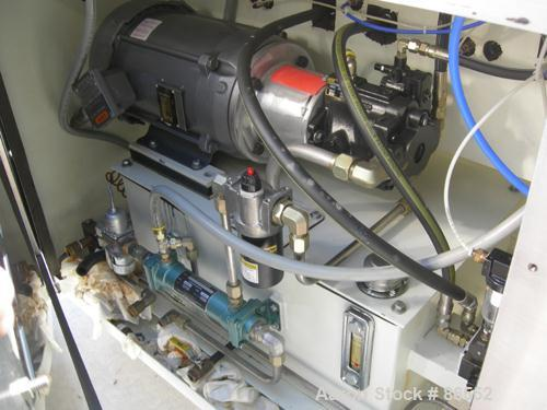 USED- Microfluidics Lab Microfluidizer Electric-Hydraulic Processor, Model M140K, 304 Stainless Steel. Unit designed for hig...