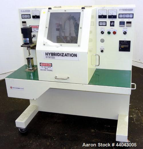 Used- Nara Machinery Hybridization System, Model NHS-0, 304 Stainless Steel. Consists of (1) Model O.M. Dizer, approximate c...