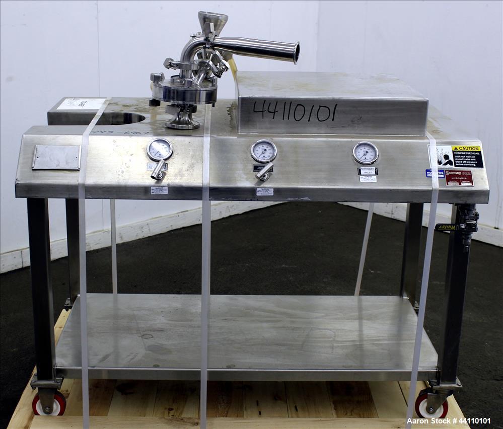 Used- Sturtevant Model SDM-4 Sanitary Design Micronizer/Jetmill