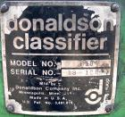 Used: Donaldson Accucut Ultrafine Air Classifier, model B18