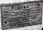 Used- Stainless Steel Hosokawa Alpine TurboPlex Mill, Model 100/4ATP