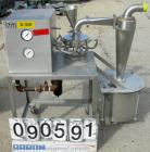 Used- Sturtevant Micronizer Jet Mill, 316 Stainless Steel. Approximately 8