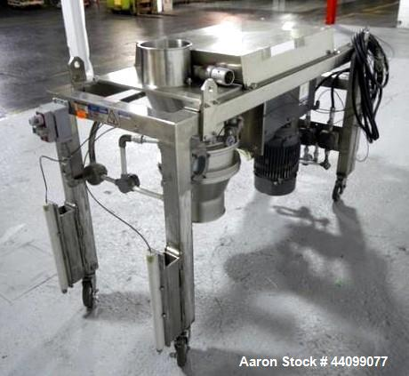 Used- Stainless Steel Quadro comil, model 196S