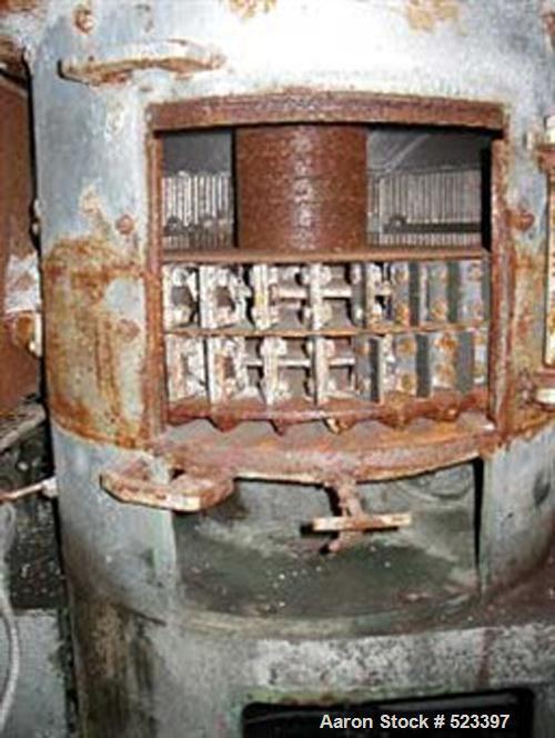 "USED: Bauer Bros hurricane type 750CW 30"" dia vertical hammermill, nomotor."