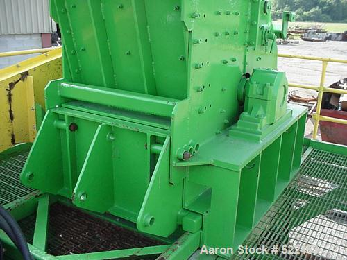 "USED: Broer 1998 model 3536E shredder. 35"" diameter rotor x 36"" wide,vertical feed, 125 hp electric drive. Other motors avai..."