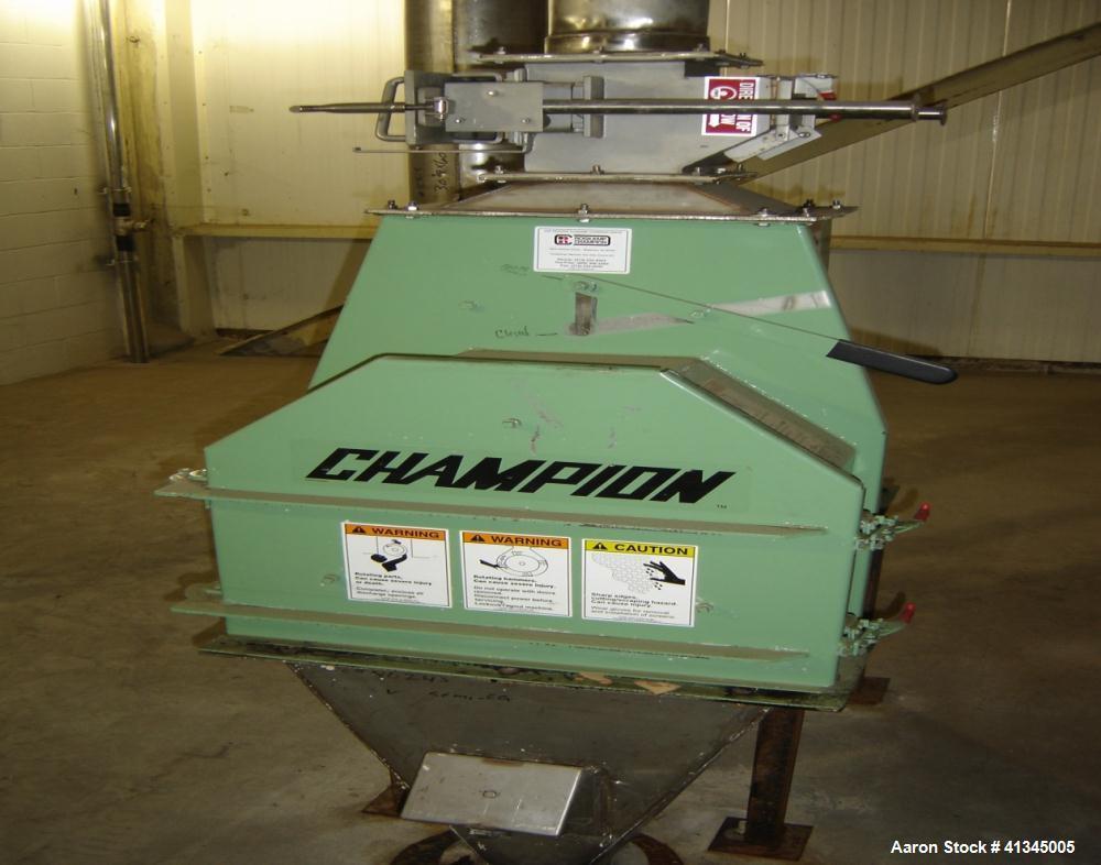 Used-Champion Hammer Mill, Model 6X16VIKING