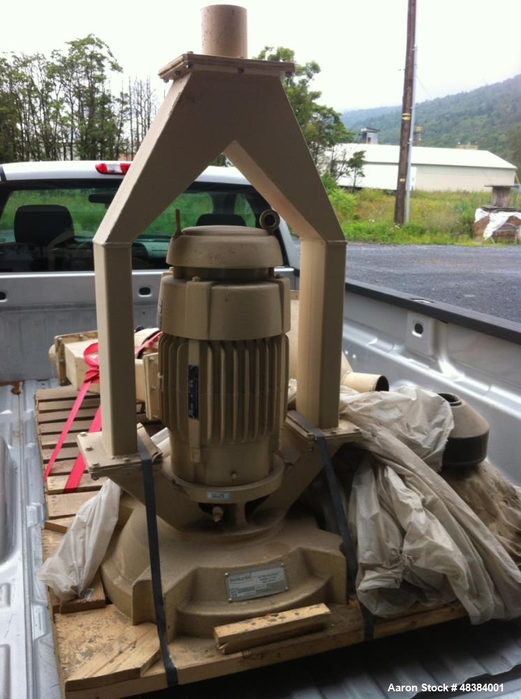 Unused- Entoleter Pin Grinding Mill. 7.5 hp, 460/3/60 TEFC Motor. Still in original shipping crate.