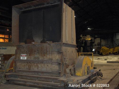 USED: T J Gundlach Machine Company crusher/breaker, model 972-140060. Crusher rollers driven by (2) 75 hp motors. Length 144...