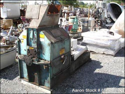 "USED: Jacobson XLT full circle hammer mill, model 24226. Carbon steel construction, 9"" x 26"" feed opening, 3600 rpm max moto..."