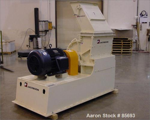 Unused-UNUSED: Jacobson half circle Commander model 2424D hammermill. Carbon steel. Rotor is standard staggered, hardfaced h...
