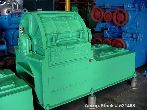 USED: Jacobson hammer mill, model AJACS/VIT-2424D. New hammers and screens. Requires 75-150 hp motor.