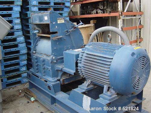 USED: Jay Bee 150 hp hammer mill.Model 5W. Carbon steel, 3/60/460V