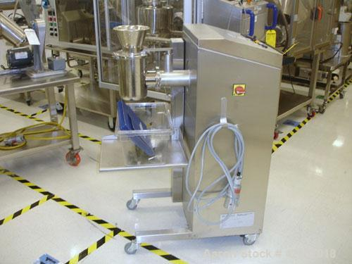 Used- LB Bohle Cone Mill, Model BTS100, stainless steel. Variable speed drive, 230 volt, serial #0209310001, new 2002. AS IS...