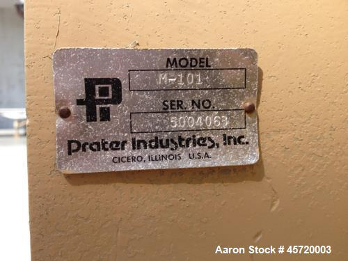 Used- Prater Hammer Mill, Model M-101.