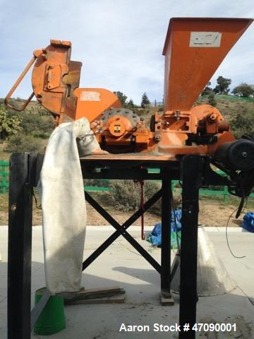 Used- Pulva Hammer Mill, Model C. 50 hp motor. Low hours and stored Indoors.